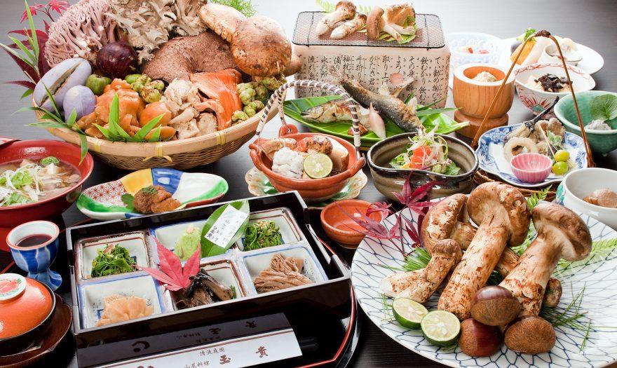 きのこ料理|山菜料理 玉貴