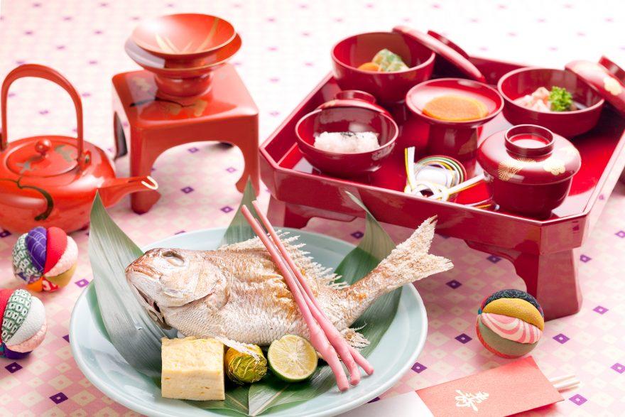 百日の祝い膳|山菜料理 玉貴