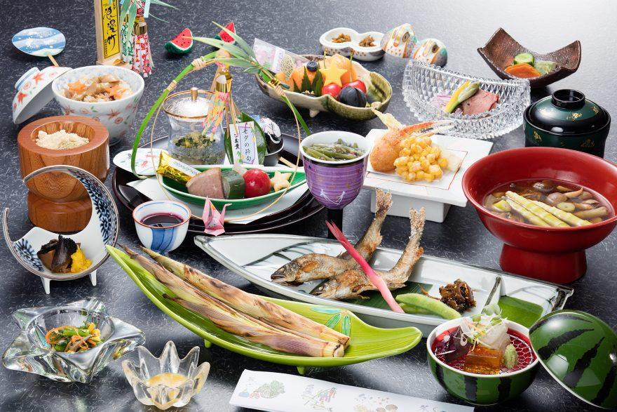 七夕の節句料理|山菜料理 玉貴