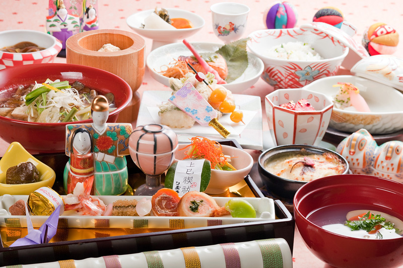 日本の五節句 上巳の節句 - 山菜料理 玉貴