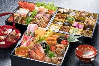 玉貴のおせち料理(3段重)